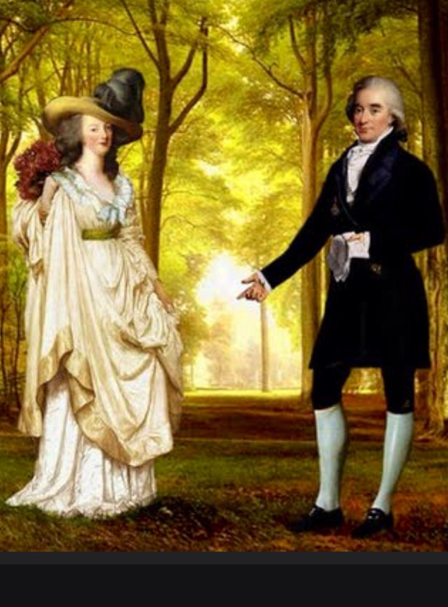 Maria Antonieta Y Axel De Fersen 18th Century Clothing Century Clothing Marie Antionette