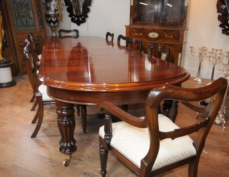 round mahogany dining table and chairs unique solid mahogany ...