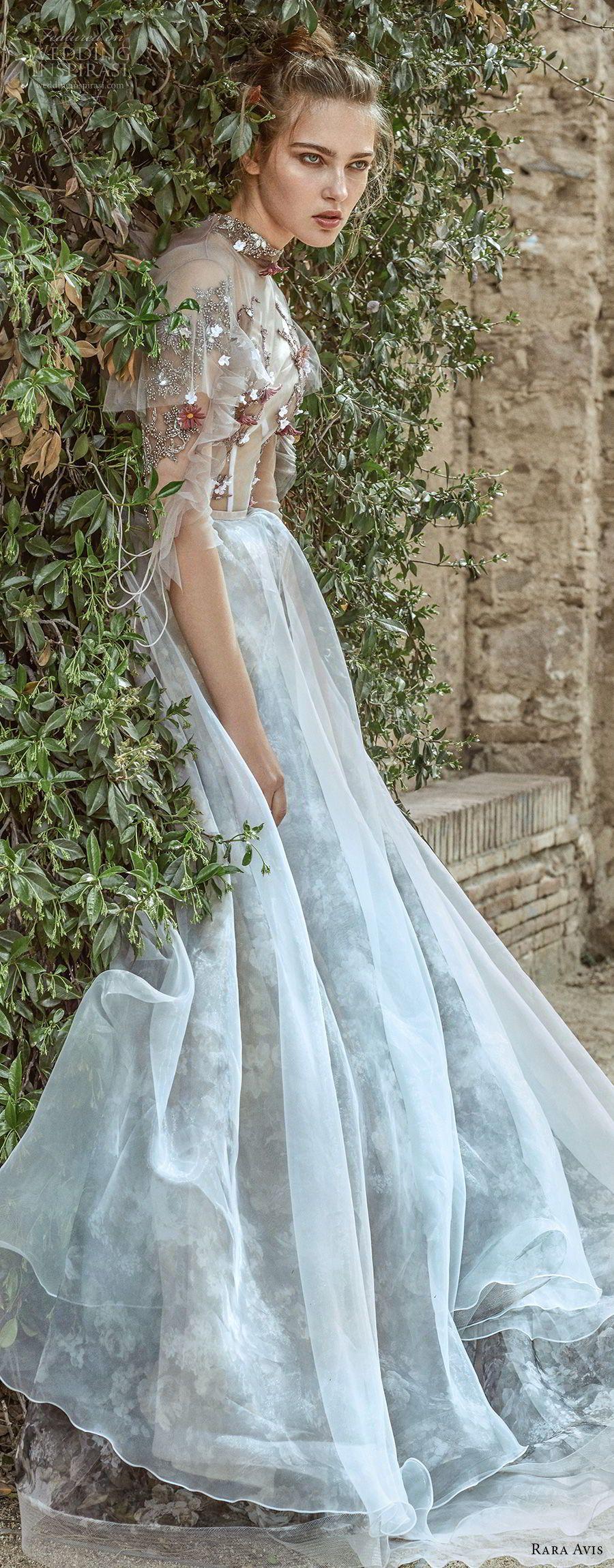Rara Avis 2017 Wedding Dresses — Floral Paradise Bridal Collection ...