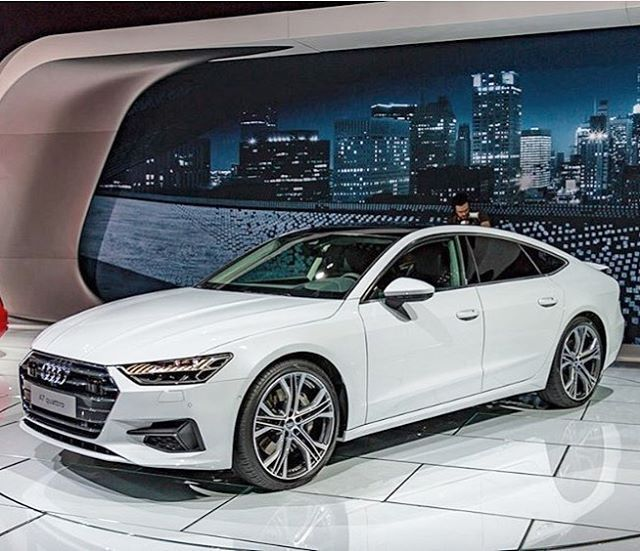 2019 Audi A6: White Seems To Be One Of The Better Color Choices For The