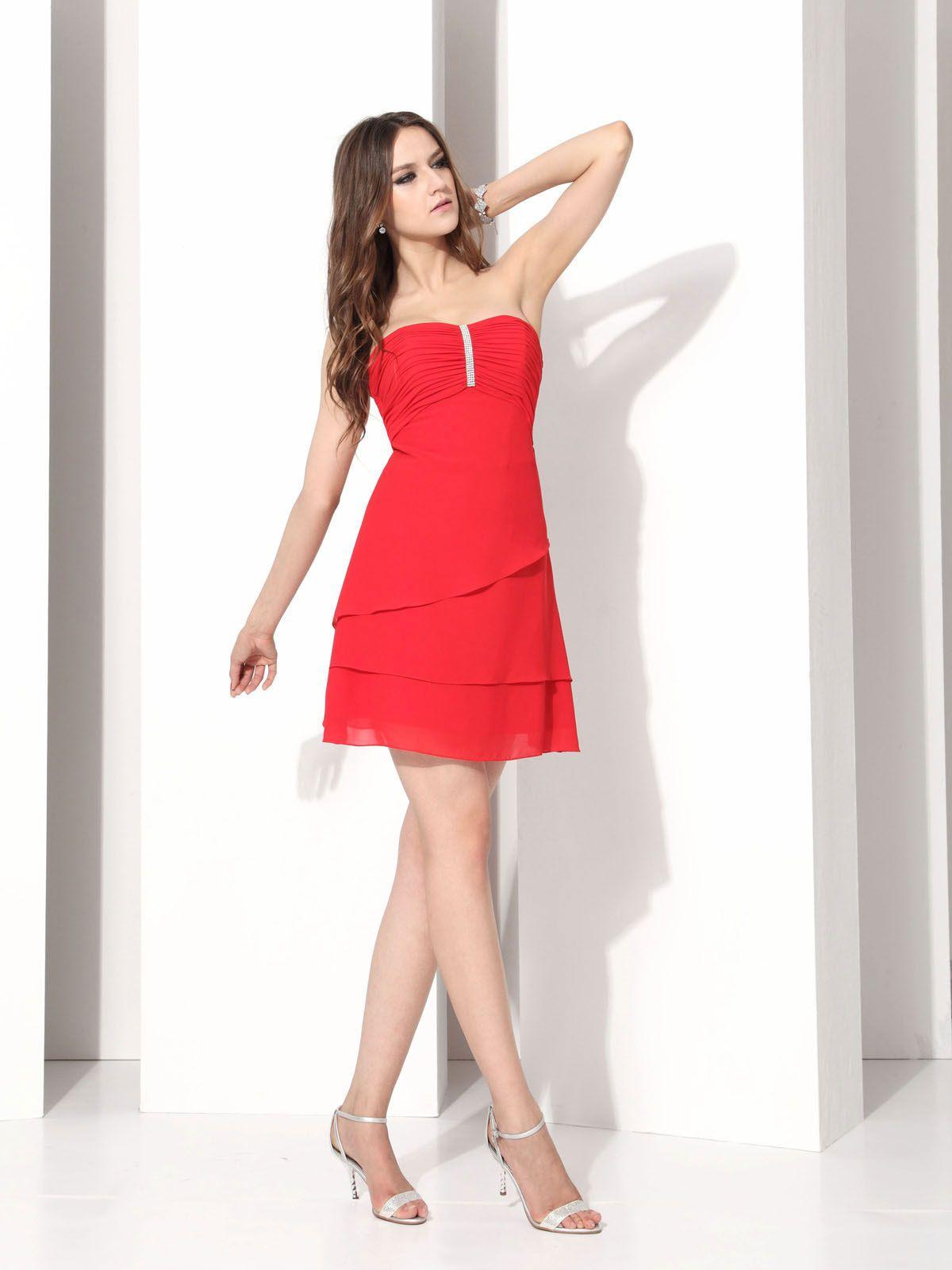 Short red bridesmaid dress hollywood dreams top 50 short red short red bridesmaid dresses beach ombrellifo Gallery