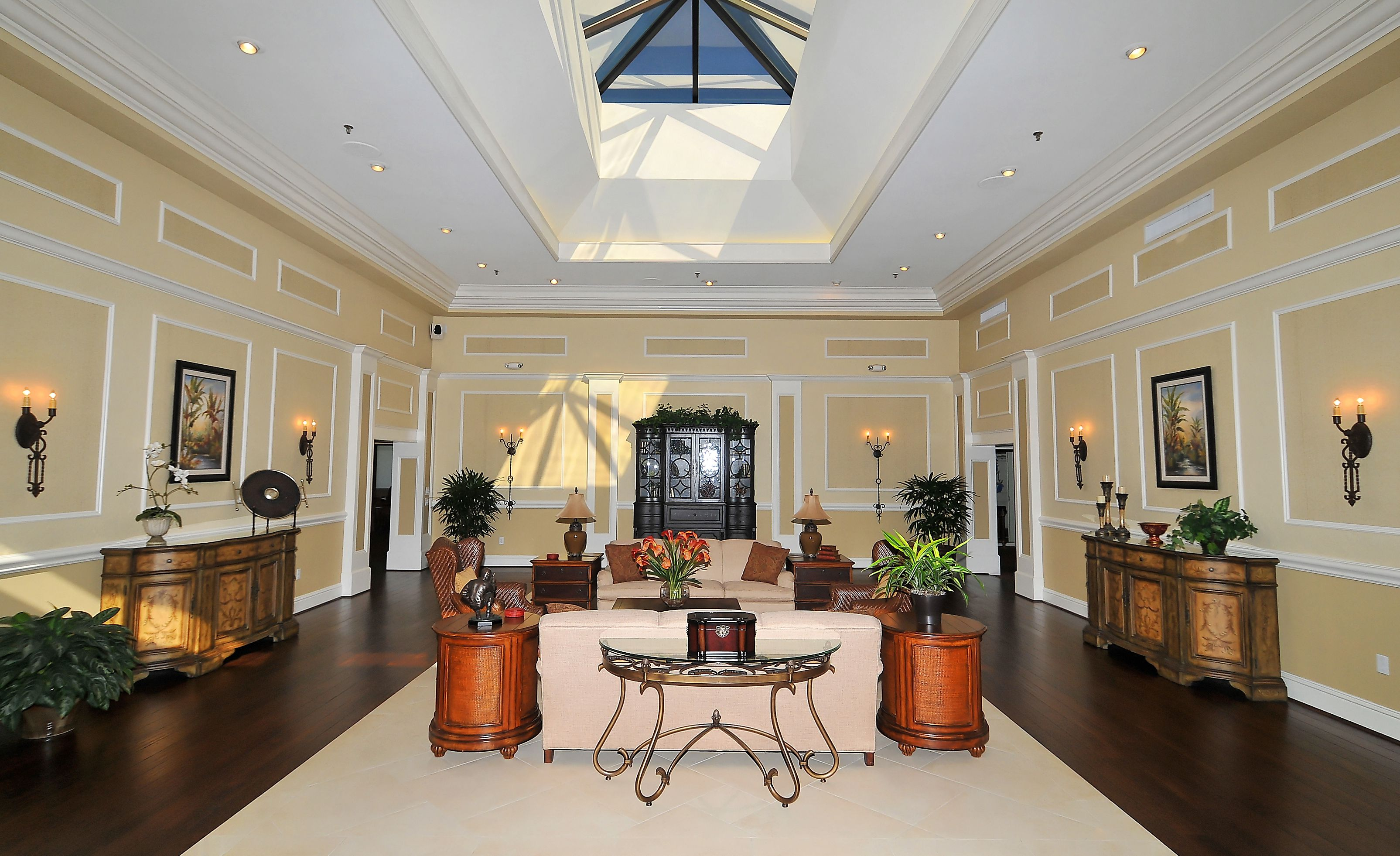 Clubhouse Lobby at Palm Aire Country Club, Sarasota, FL