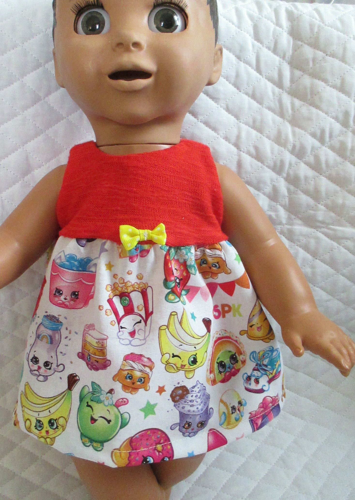 5d4558ce12db Luvabella Shopkins Sleeveless Dress With Matching Panties 2 Pc Set Doll  Clothes Just For Luvabella Doll by Giftsbygammy on Etsy
