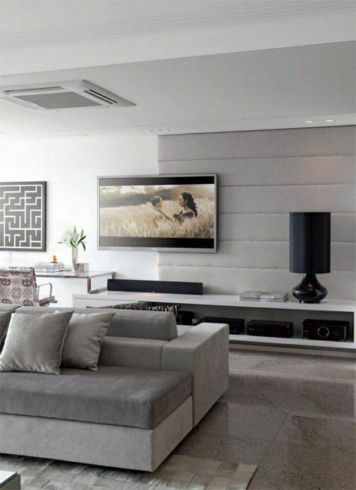 Le meuble télé en 50 photos, des idées inspirantes! | Theatre design ...