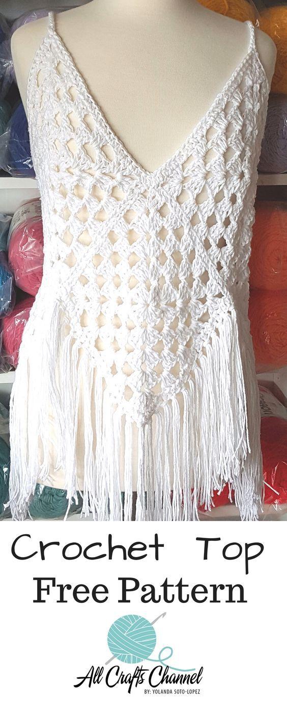 Easy Breezy Beautiful Crochet Top Verena Pinterest Häkeln