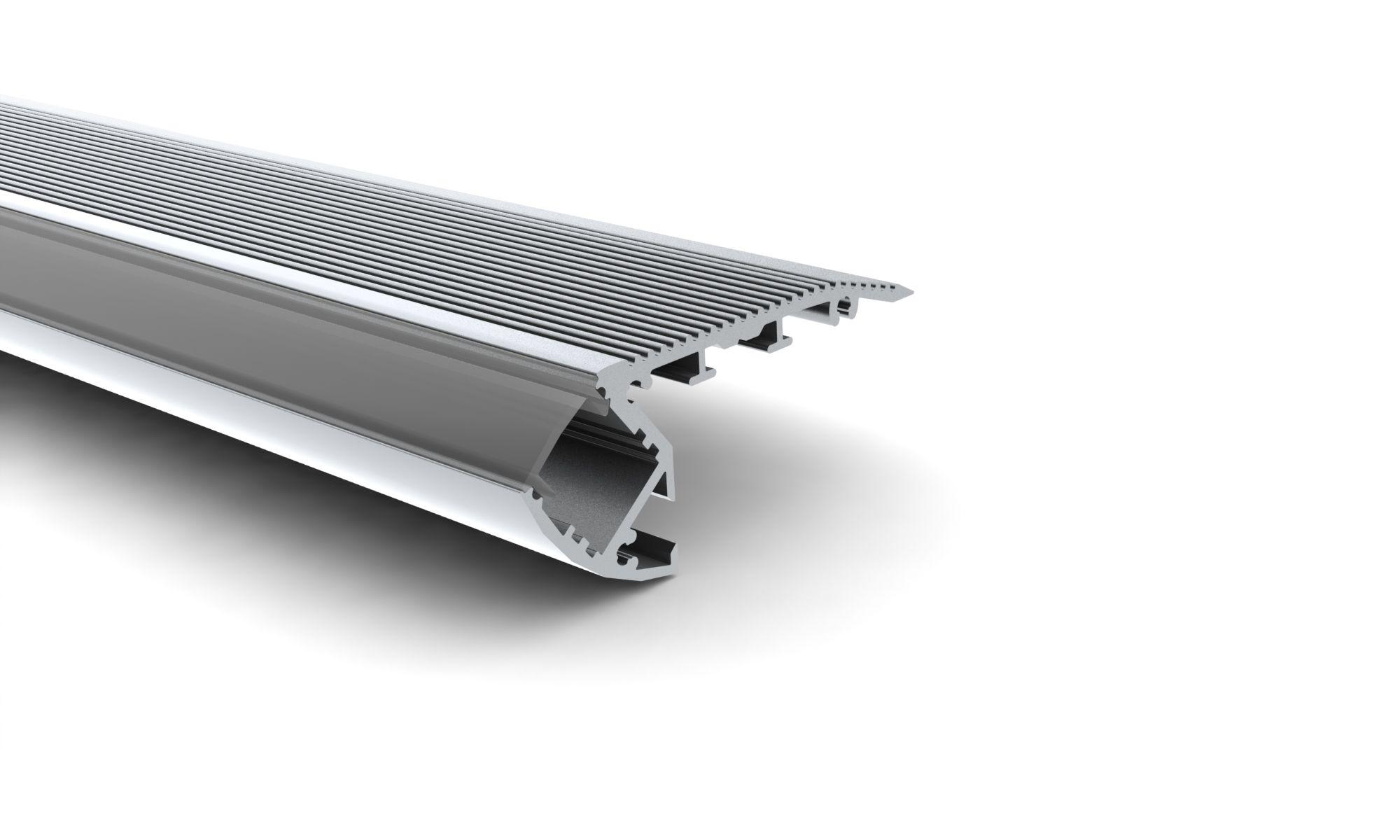 Led profile stairs led profile trap ledw re einsteinstraat