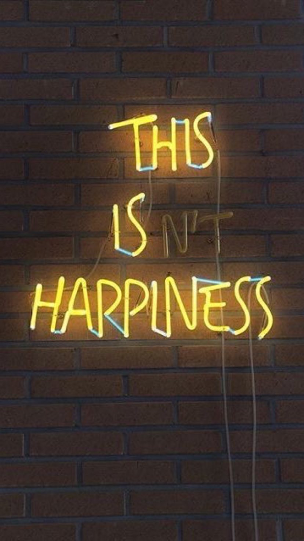 Pinterest Yasholo Ig Unreal Shakespeare Yellow Neonlights Happiness Neon Quotes Neon Wallpaper Neon Signs
