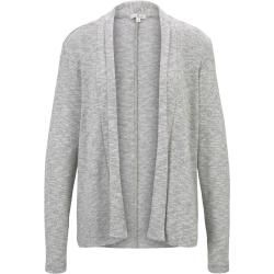 Photo of Tom Tailor Damen Schlichter Cardigan, grau, zweifarbig, Gr.M Tom TailorTom Tailor