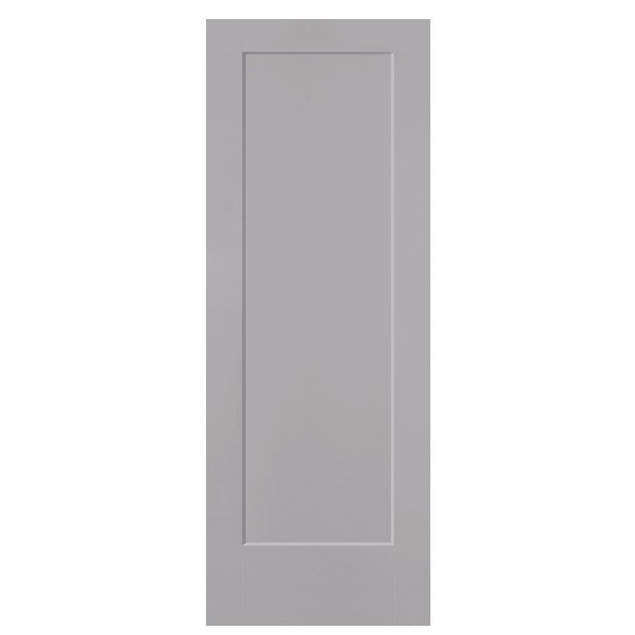 Masonite Lincoln Park Driftwood Hollow Core 1 Panel Slab Interior Door Common 36 In X 80 In Actual 37 5 In X 81 5 In Slab Door Masonite Blue Interior Doors
