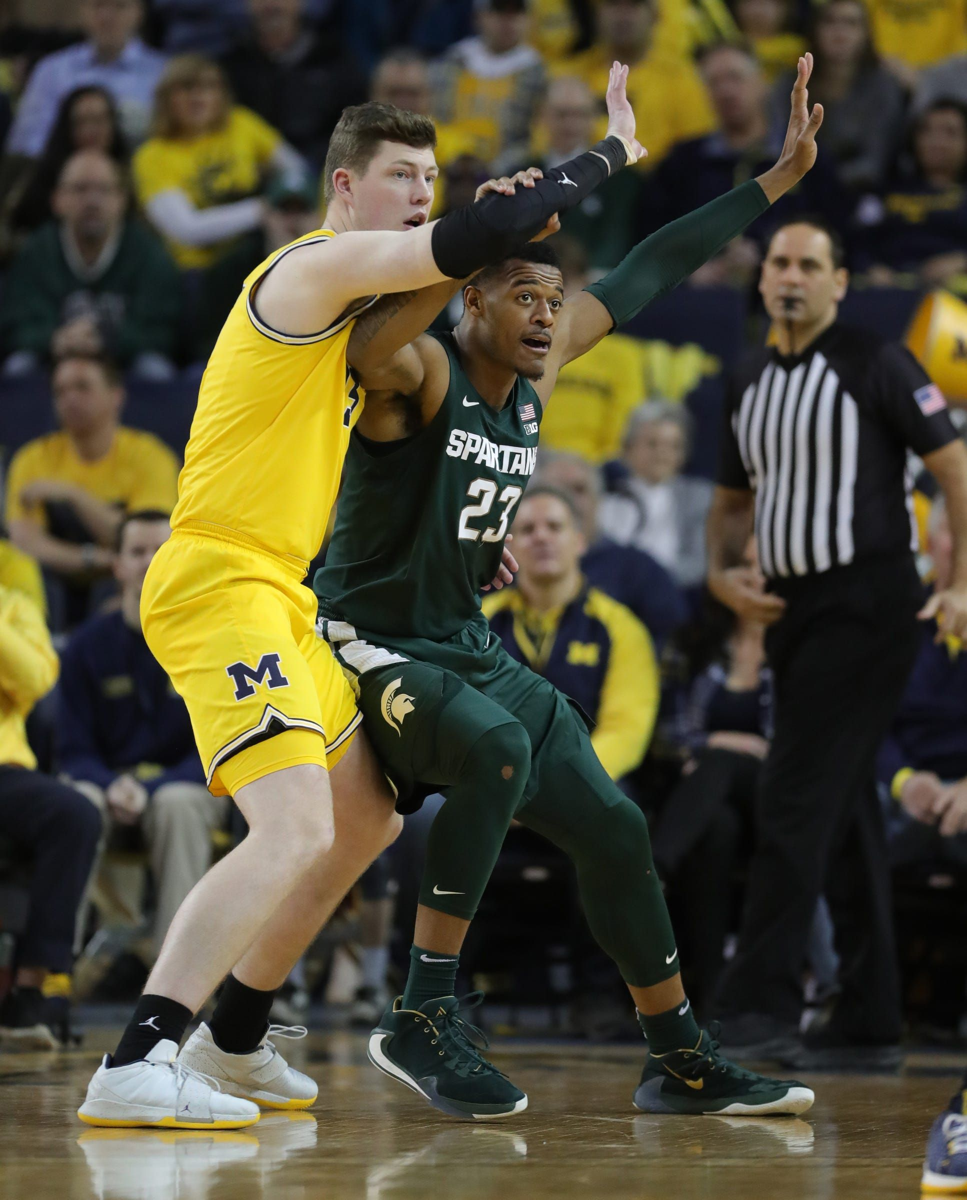 Michigan State basketball barely stays in USA TODAY
