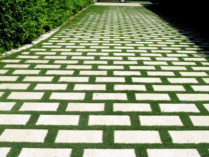 Permeable pavers grass images for Green pavers