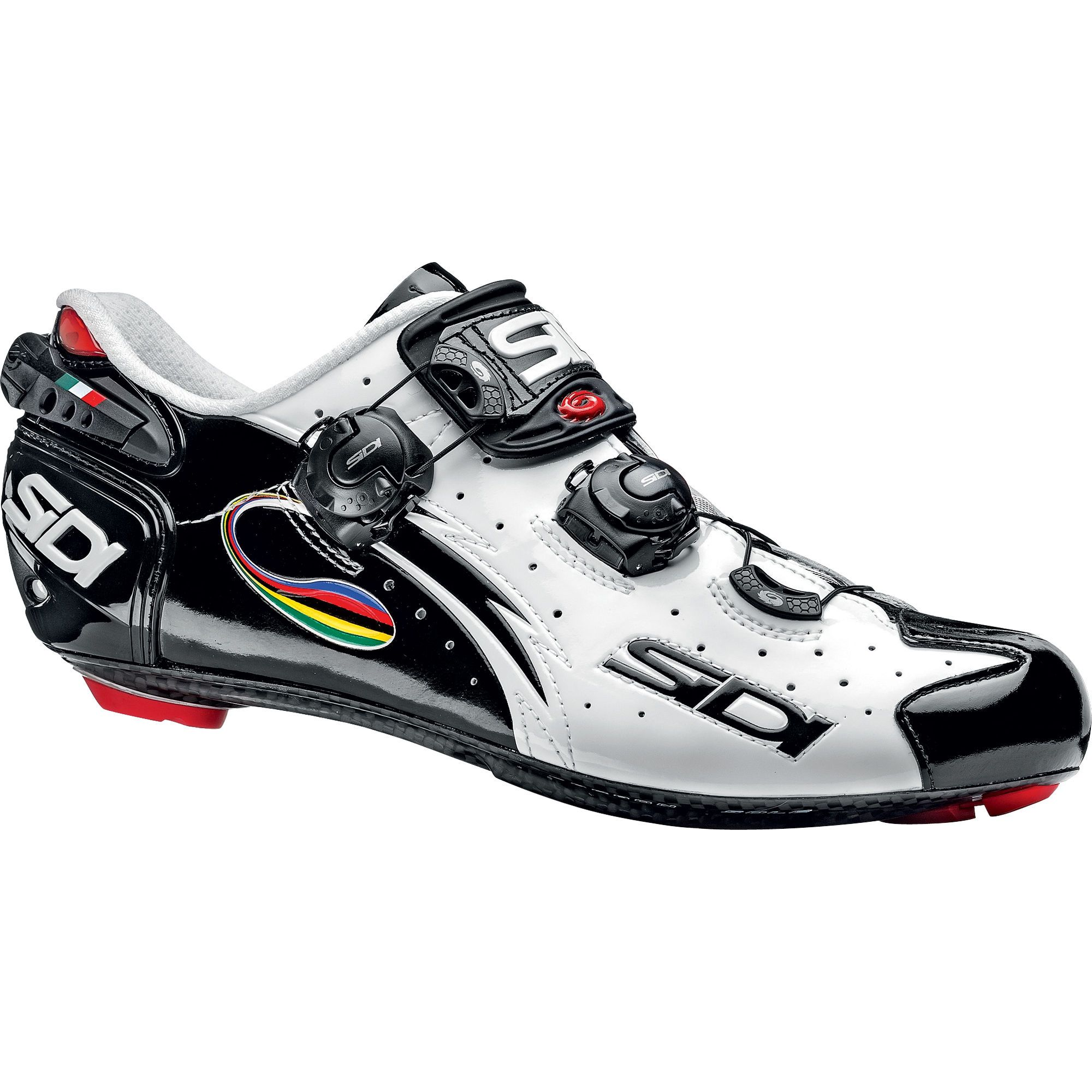 7W0O Sidi T-4 Air Carbon Composite Shoes Mens White Reduced Price Wholesale