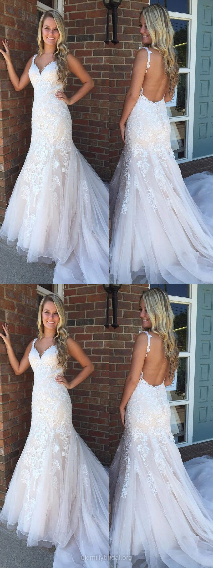 Cheap wedding dresses for military brides  White Formal Dresses Mermaid Long Prom Dresses For Teens Lace