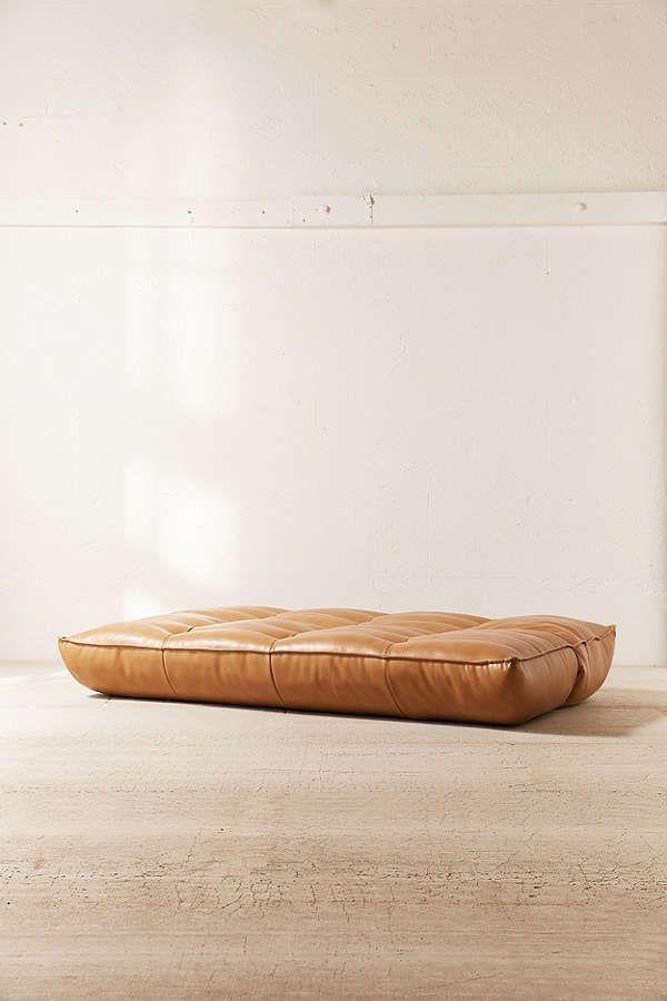 Greta Recycled Leather Xl Sleeper Sofa Home Sofa Sleeper Sofa