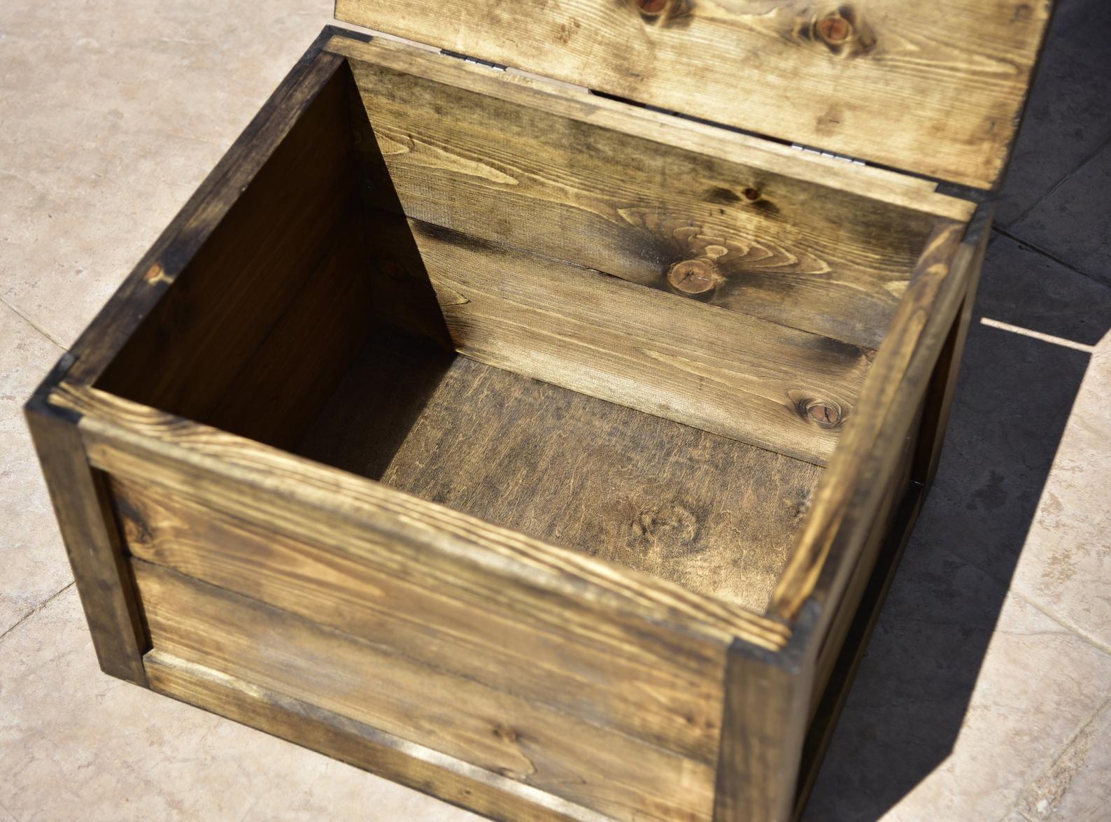 Wooden Dog Food Storage Bin Wooden Storage Bins Dog Food