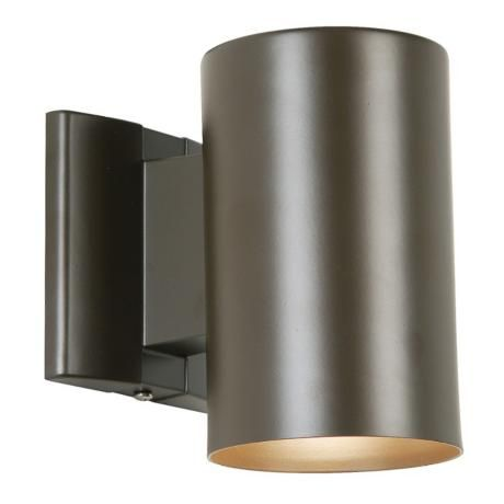 Bronze 7 High Outdoor Dark Sky Tube Light 21618 Lamps Plus Tube Light Wall Lighting Design Contemporary Outdoor Lighting