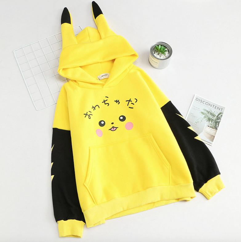 Pin By Nectaria On Fesi Nhật Pikachu Hoodie Kawaii Clothes Pokemon Clothes