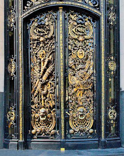 Bronze Door | Flickr - Photo Sharing! & Bronze Door | Pinterest | Doors and Architecture