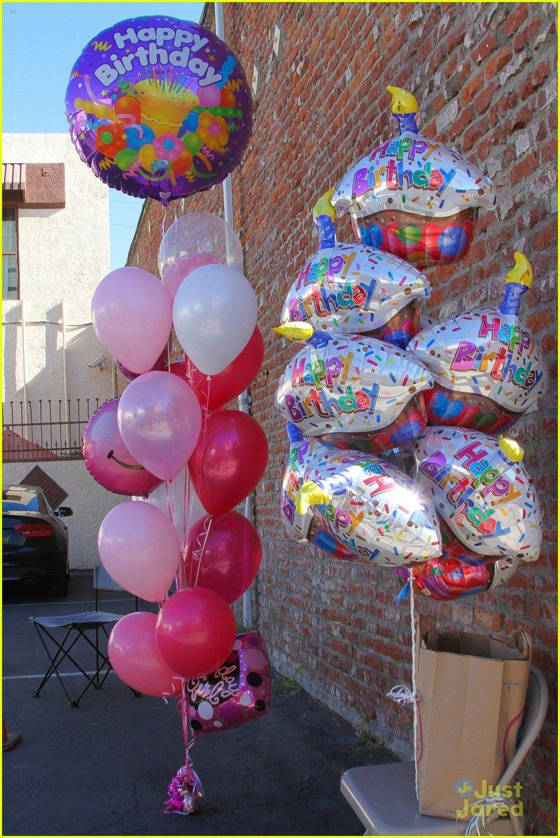 Bethany Mota Gets Even More Balloons On Her Birthday Before Dinner With Derek Hough