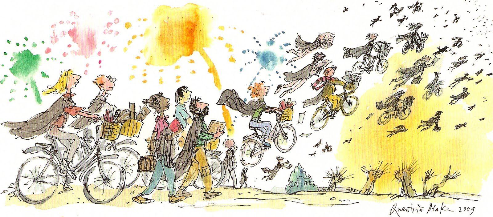 Dibujos Bonitos: Quentin Blake   Quentin blake
