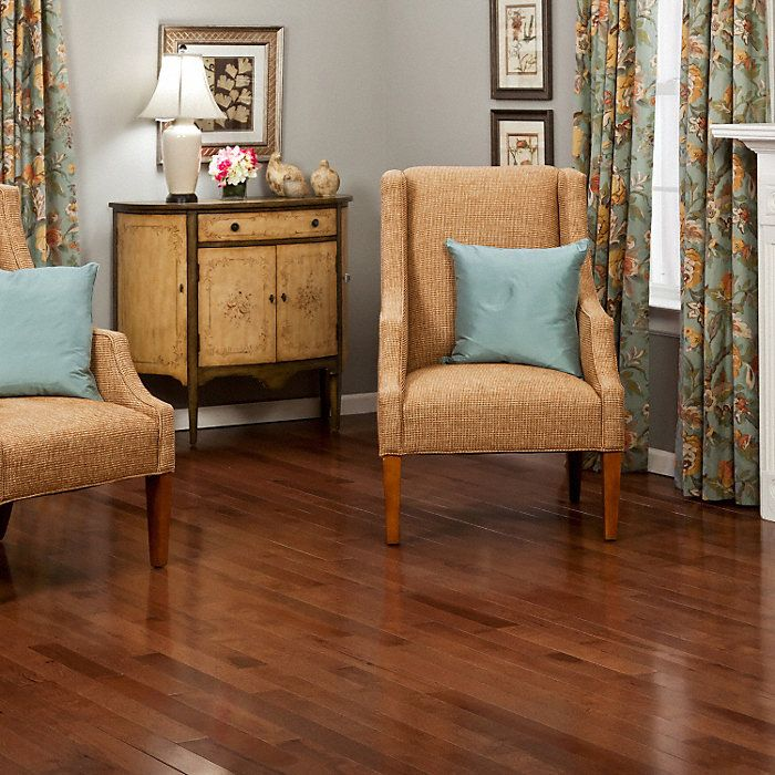 "3/4"" x 31/4"" Walnut Hickory fullscreen Hardwood floor"
