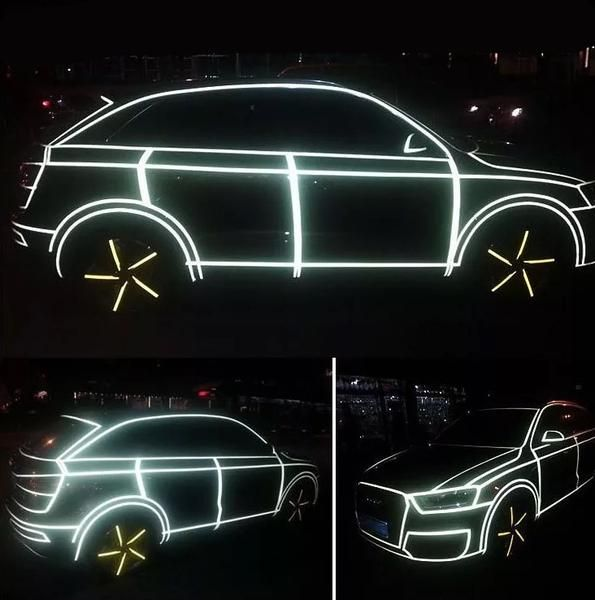 Fluorescent Neon Car 3M Tape DIY Decor   Carsoda   1