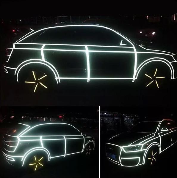 Fluorescent Neon Car 3M Tape DIY Decor   Carsoda   1