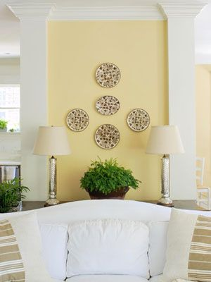 25 Cheery Ways To Use Yellow In Your Decor Yellow Home Decor Yellow Accent Walls Yellow Walls Living Room