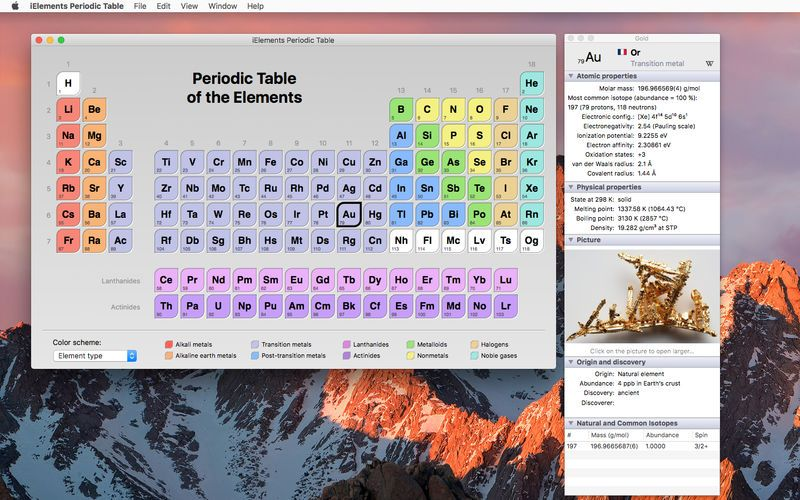 iElements Periodic Table by Mobile Science Apps χημεια Pinterest - new periodic table app.com