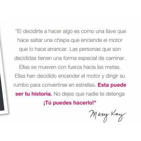 La Frase Tu Puedes Hacerlo De Nuestra Mary Kay As En 2019