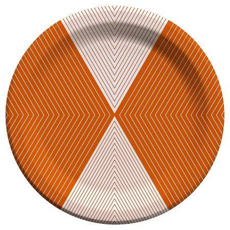 Orange Snack Plate - Cheeky® : Target