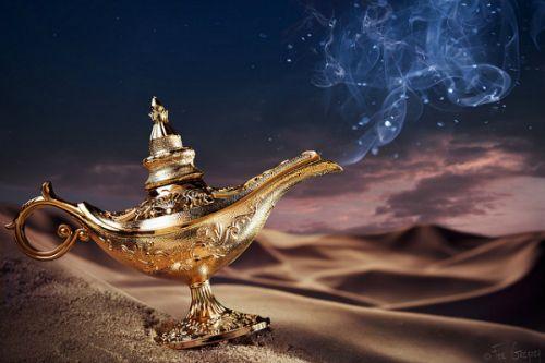 Make A Wish Lampara Magica Aladdin Y Jazmín Butterfly Girl