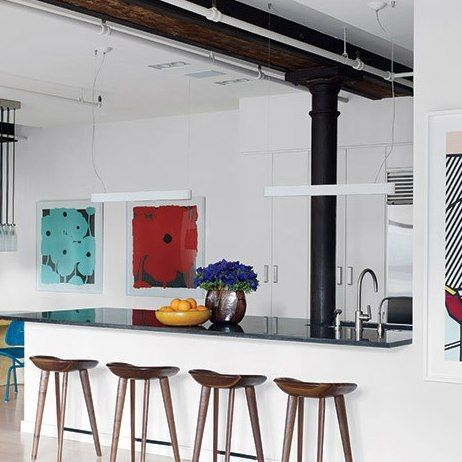Perfect Kitchens For Holiday Cooking And Gathering Home Decor Celebrity Houses New York Loft