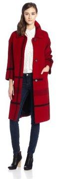 Pendleton Women's Long Engineered Coat on shopstyle.com