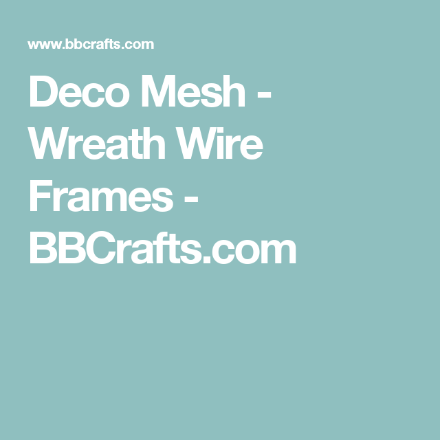 deco mesh wreath wire frames bbcraftscom - Wire Wreath Frame Wholesale
