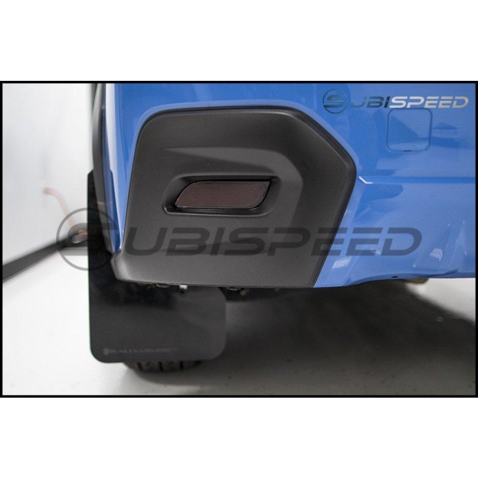 Rear Bumper Reflector Overlays Subaru Crosstrek Automatic Car Wash 2015 Subaru Wrx