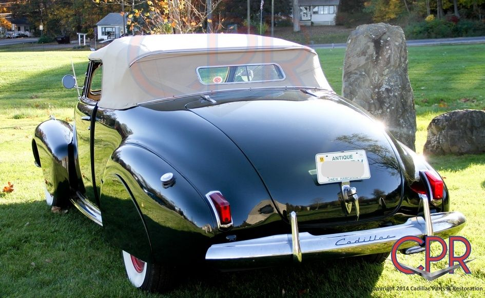 Older project: 1940 Cadillac restored by our team back in our F.E.N. ...