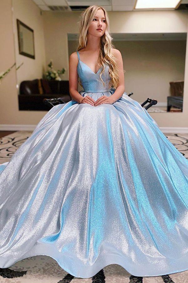 Glitter Prom Dress
