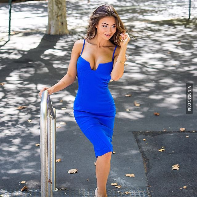 aa3b03ccb7a7 Pia Muehlenbeck. Find this Pin and more on Pia Muehlenbeck by Christopher  Moore. Tags. Girls Blue Dress · Navy Dress · Blue Dresses