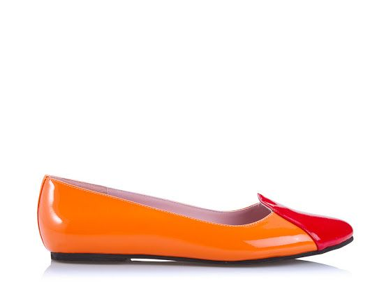Our most successful shoe is the ballet flat - design your own @ www.shoesofprey.com