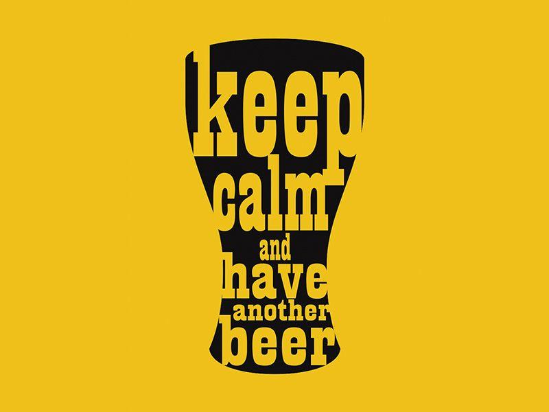 Beer Poster Design by Cícero Souza