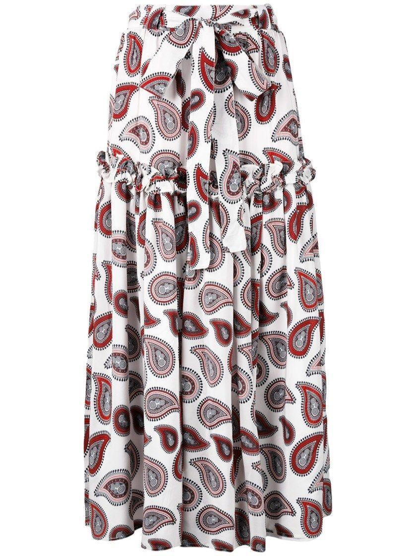 39cc33021 DODO BAR OR 'Stevie' Silk Skirt. #dodobaror #cloth #maxi skirts ...
