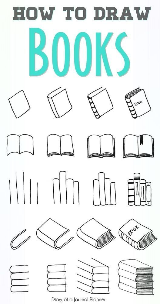 Kreative und Großartige Wie man ein Buch zeichnet - Schrittgeschwindigkeit für jedes Schrittg...