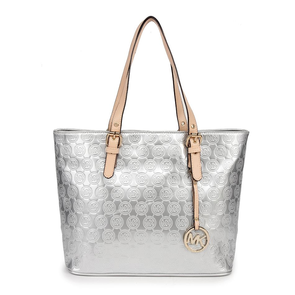 macy\u0027s MK Handbags Jet Set Tote Bags silver:Cheap Michael Kors Bags Outlet  under $80