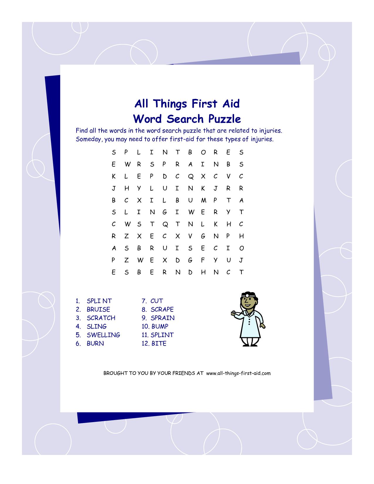 Pin by Meghan Harrington-Patton on Aid | Pinterest | Word search ...