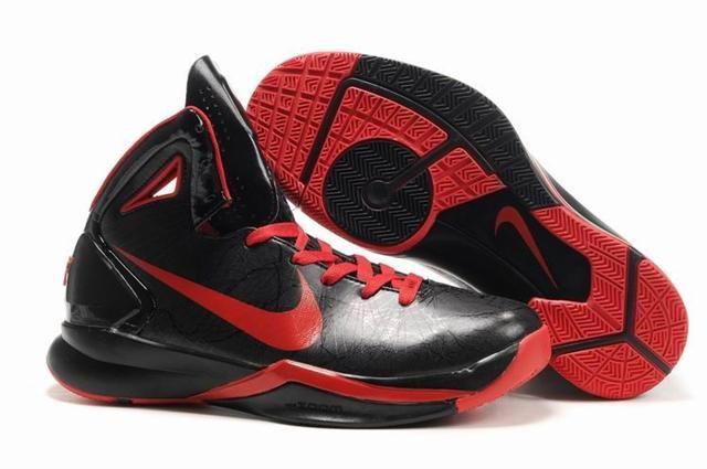 77b54b25c9e1 Nike Air Foamposite Shoes Nike Hyperdunk Black Sport Red  Nike Hyperdunk -  Cool Nike Hyperdunk Black Sport Red shoes are characterized with a Flywire  upper.