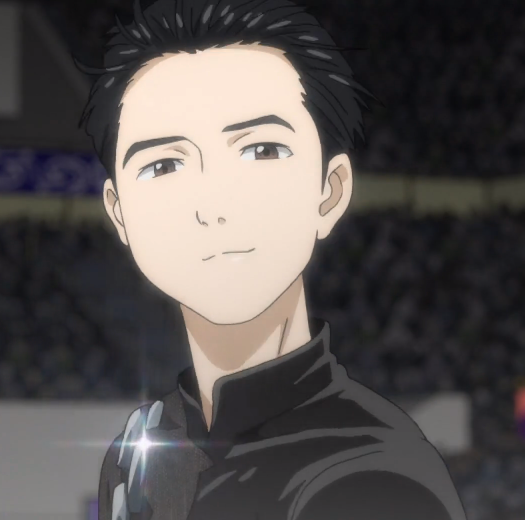 E08 Yuri Reflects On How This Might Be The Last Time He Skates In A Competition Accompanied By Viktor As His Coach Anime Kimono Yuri On Ice Yuri Katsuki