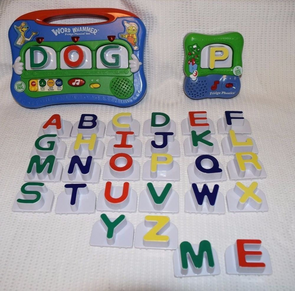 Leap frog letter word whammer fridge phonics set for Leapfrog three letter words