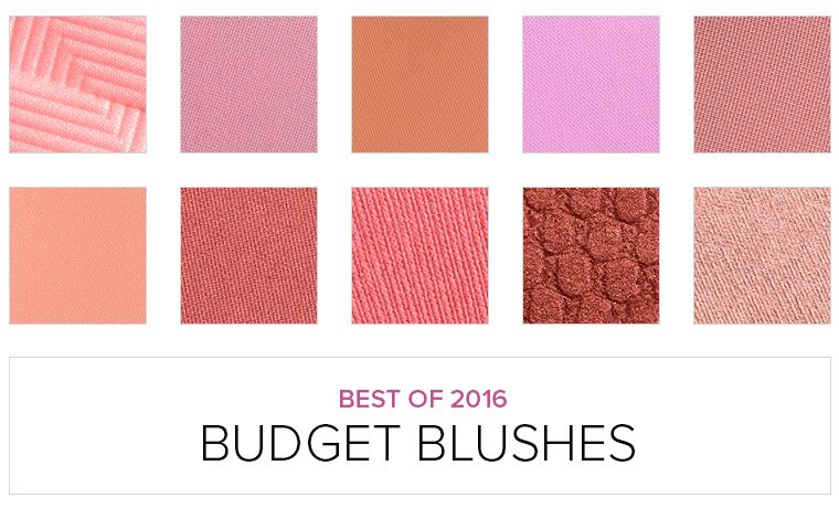 Top 10 of 2016: Best Blushes $15 & Under