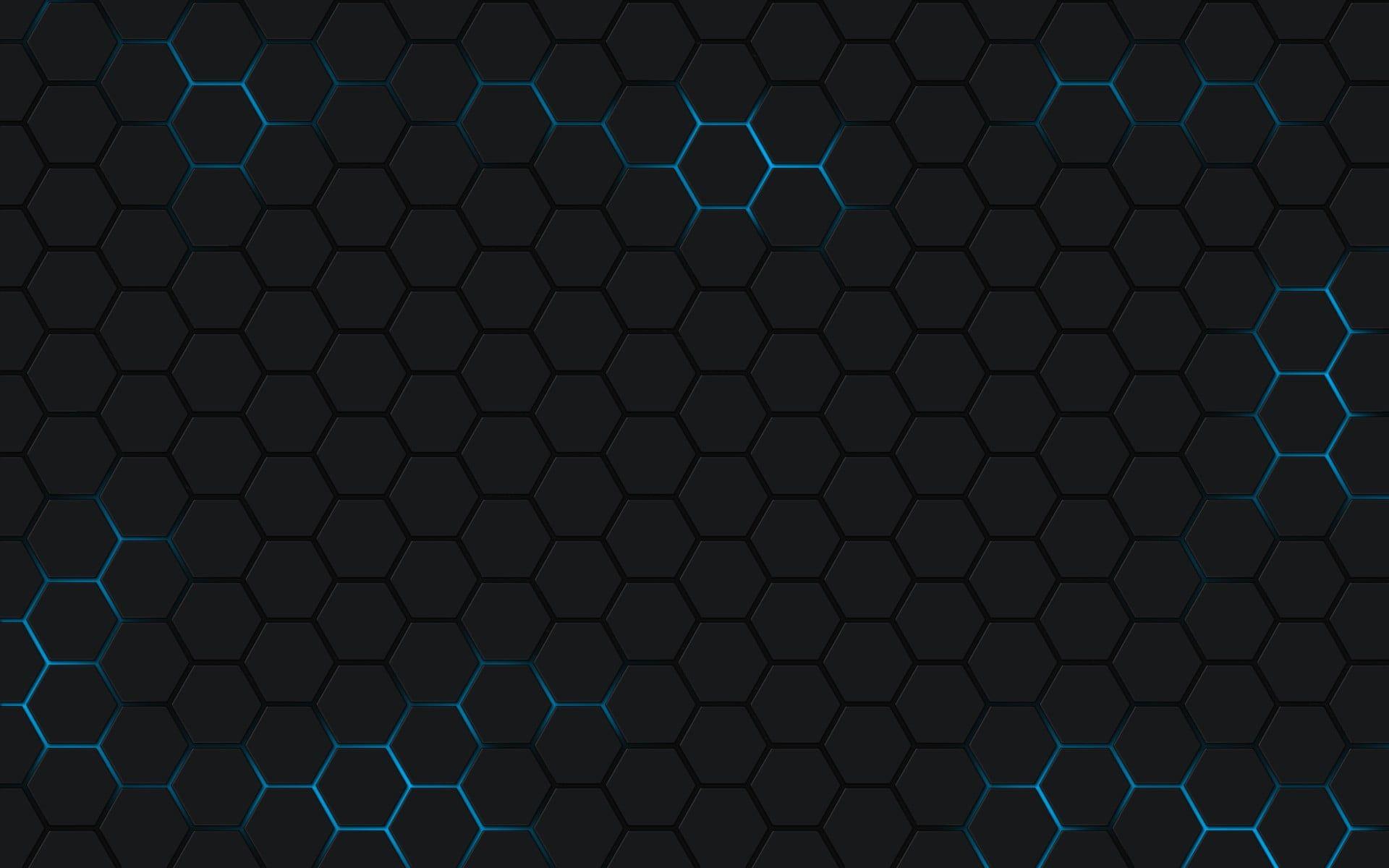 Black Honeycomb Wallpaper Minimalism Hexagon 1080p Wallpaper Hdwallpaper Desktop Lenovo Wallpapers Hexagon Wallpaper Honeycomb Wallpaper